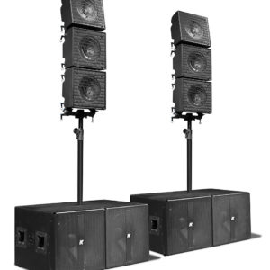 Coaxial Array Speakers