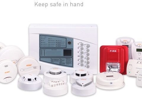 Photoelectric Smoke and Heat Alarm